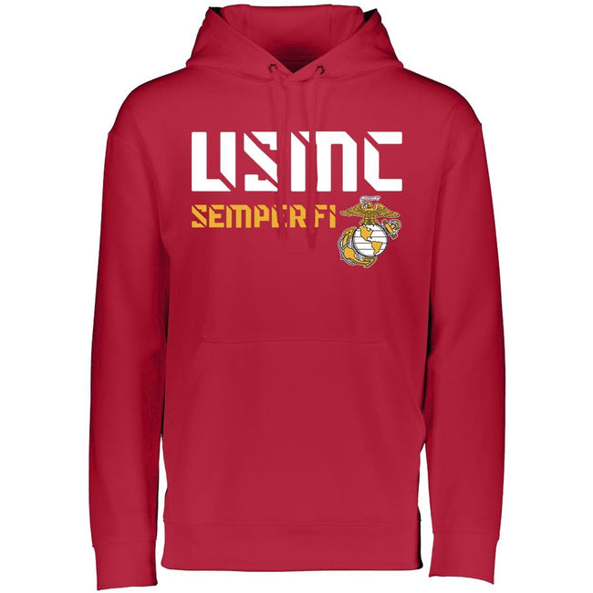 USMC Semper Fi Dri-Fit Performance Hoodie - Marine Corps Direct