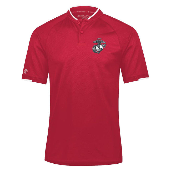 Mock Collar EGA Embroidered Performance Polo