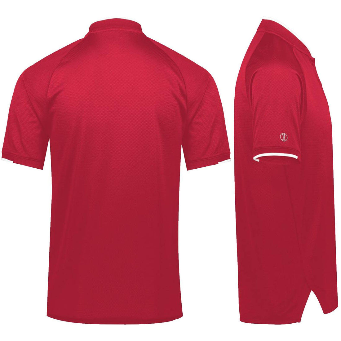 Combat Charged EGA Embroidered Mock Collar Dri-Fit Performance Polo - Marine Corps Direct