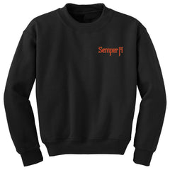 SEMPER FI EMBROIDERED SWEATSHIRT - Marine Corps Direct  - 2