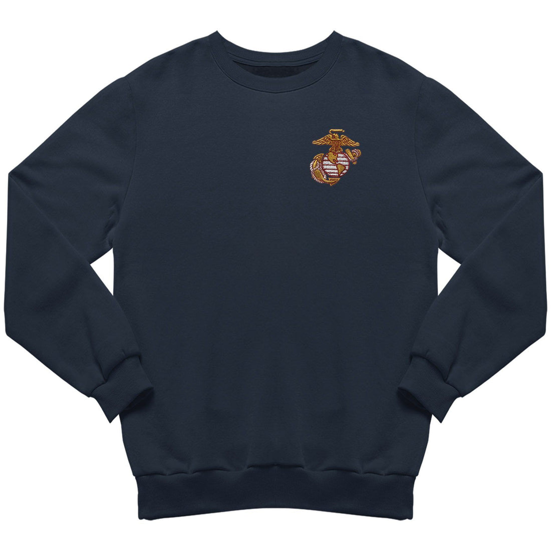 Scarlet & Gold EGA Embroidered Sweatshirt - Marine Corps Direct