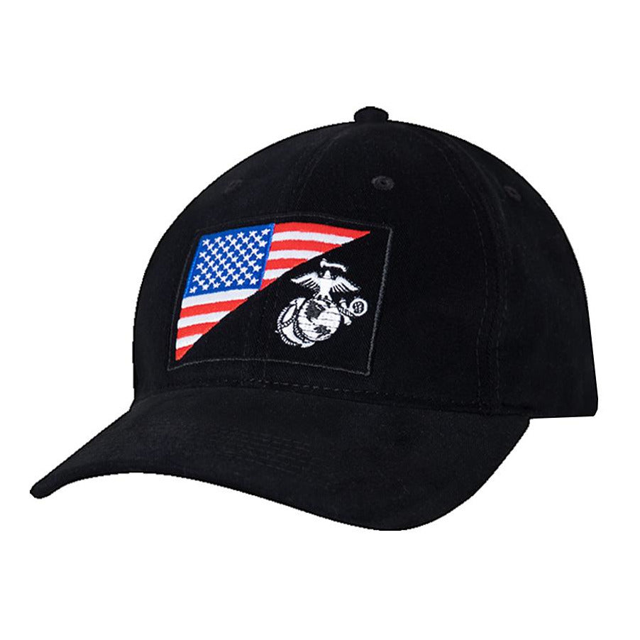 ROTHCO HAT USMC Globe and Anchor Low Pro Cap - Marine Corps Direct