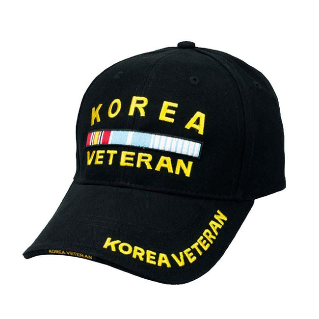 ROTHCO  CLOSEOUT Rothco Deluxe Korea Veteran Low Profile Insignia Cap - Marine Corps Direct