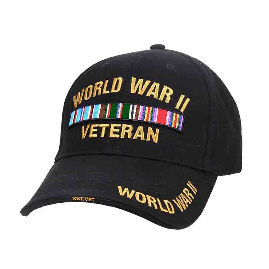 ROTHCO  CLOSEOUT Rothco WWII Veteran Deluxe Low Profile Cap