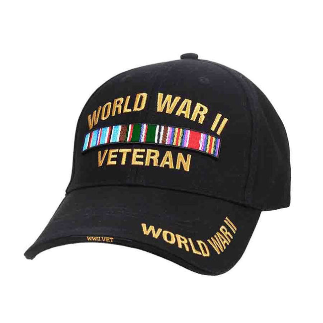 ROTHCO  CLOSEOUT Rothco WWII Veteran Deluxe Low Profile Cap - Marine Corps Direct