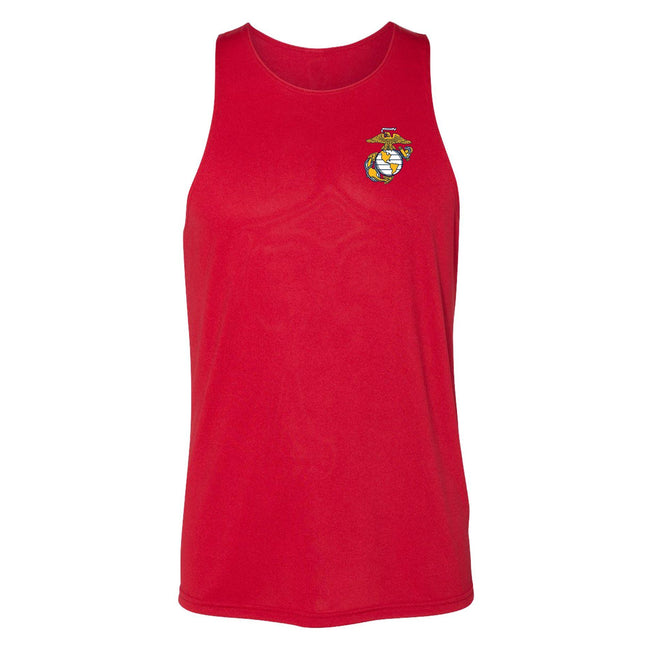 COMBAT CHARGED DRI-FIT PERFORMANCE POLY EGA TANK