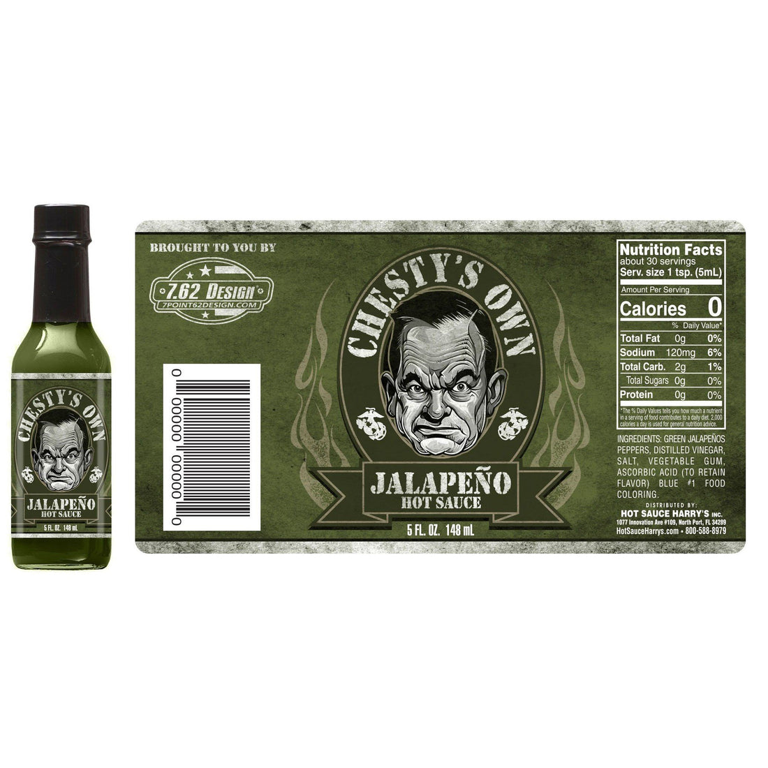CHESTY'S OWN- JALAPENO HOT SAUCE