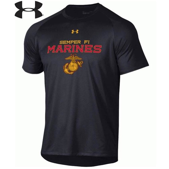 Under Armour Original Marines Dri-Fit Performance T-Shirt - Marine Corps Direct