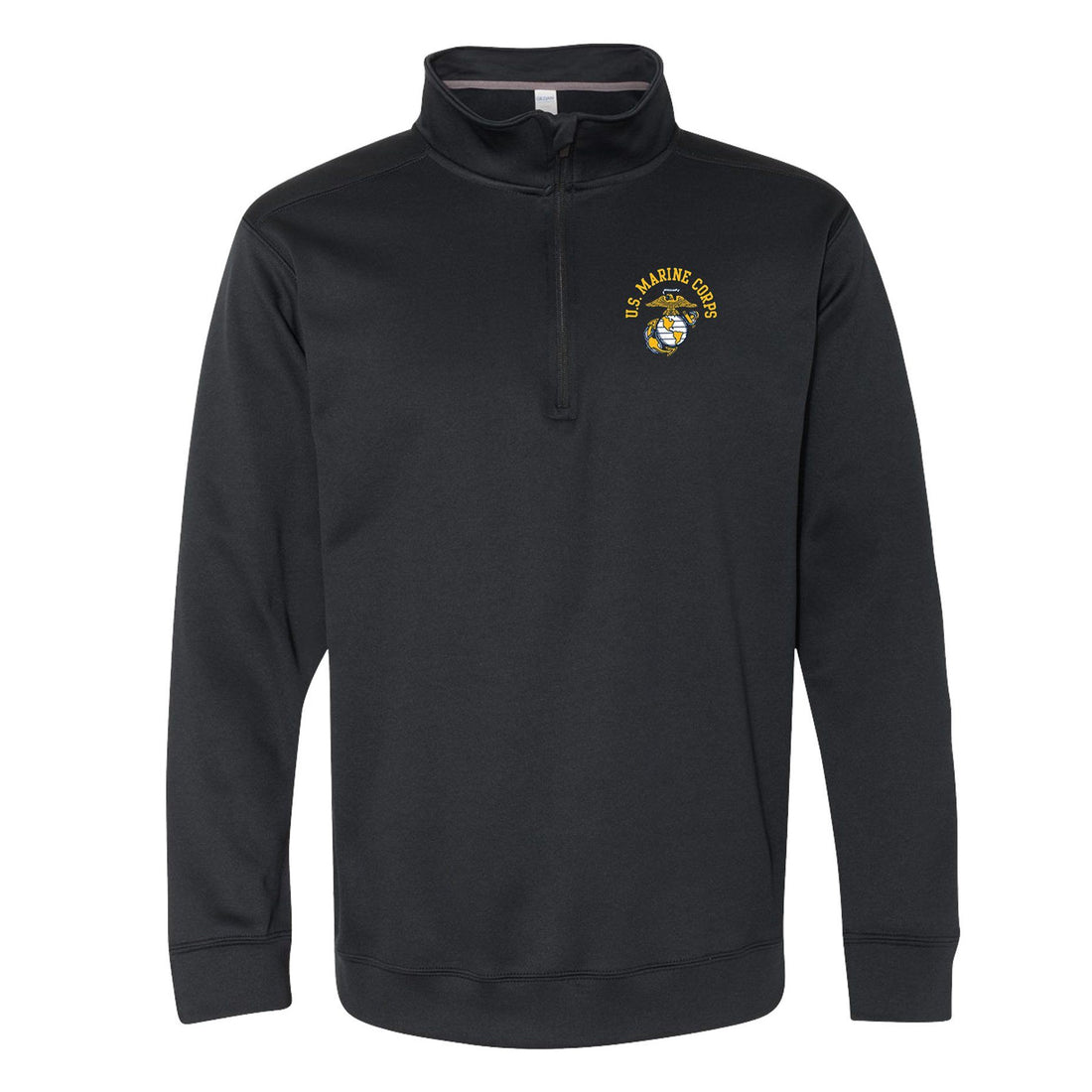 COMBAT CHARGED DRI-FIT PERFORMANCE POLY US EGA 1/4 ZIP