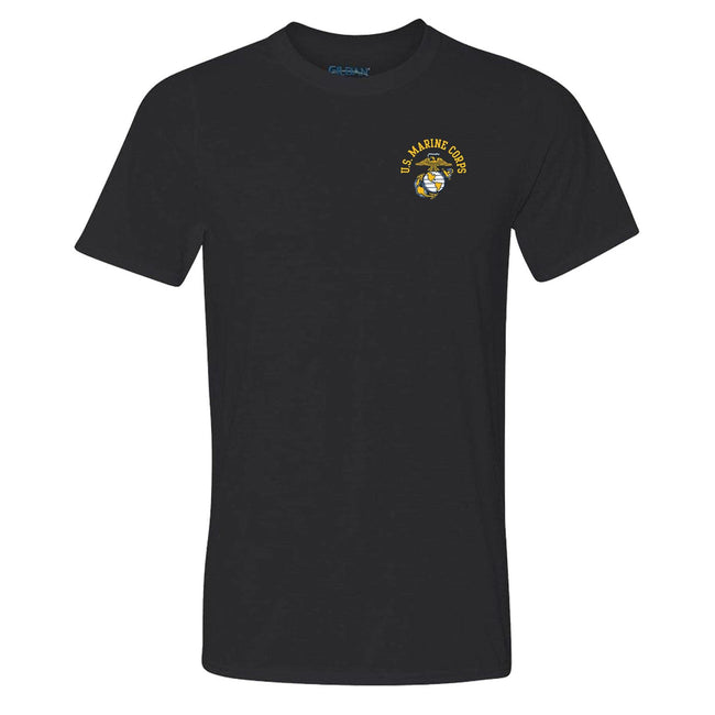 COMBAT CHARGED Dri-Fit Performance Poly US EGA T-Shirt - Marine Corps Direct