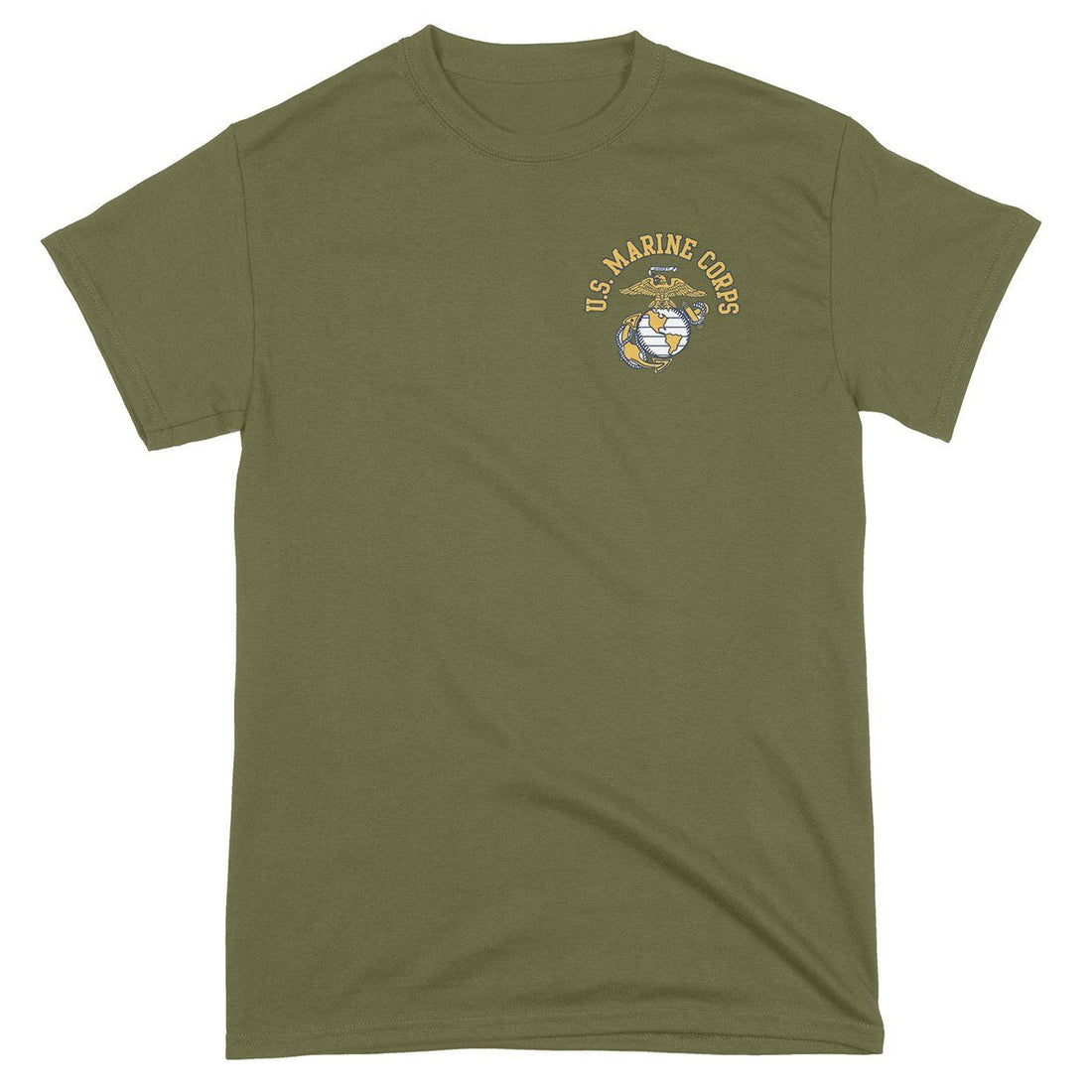 "OVER STOCKED ""CLOSEOUT"" U.S. Marine Corps EGA Chest Seal T-Shirt"