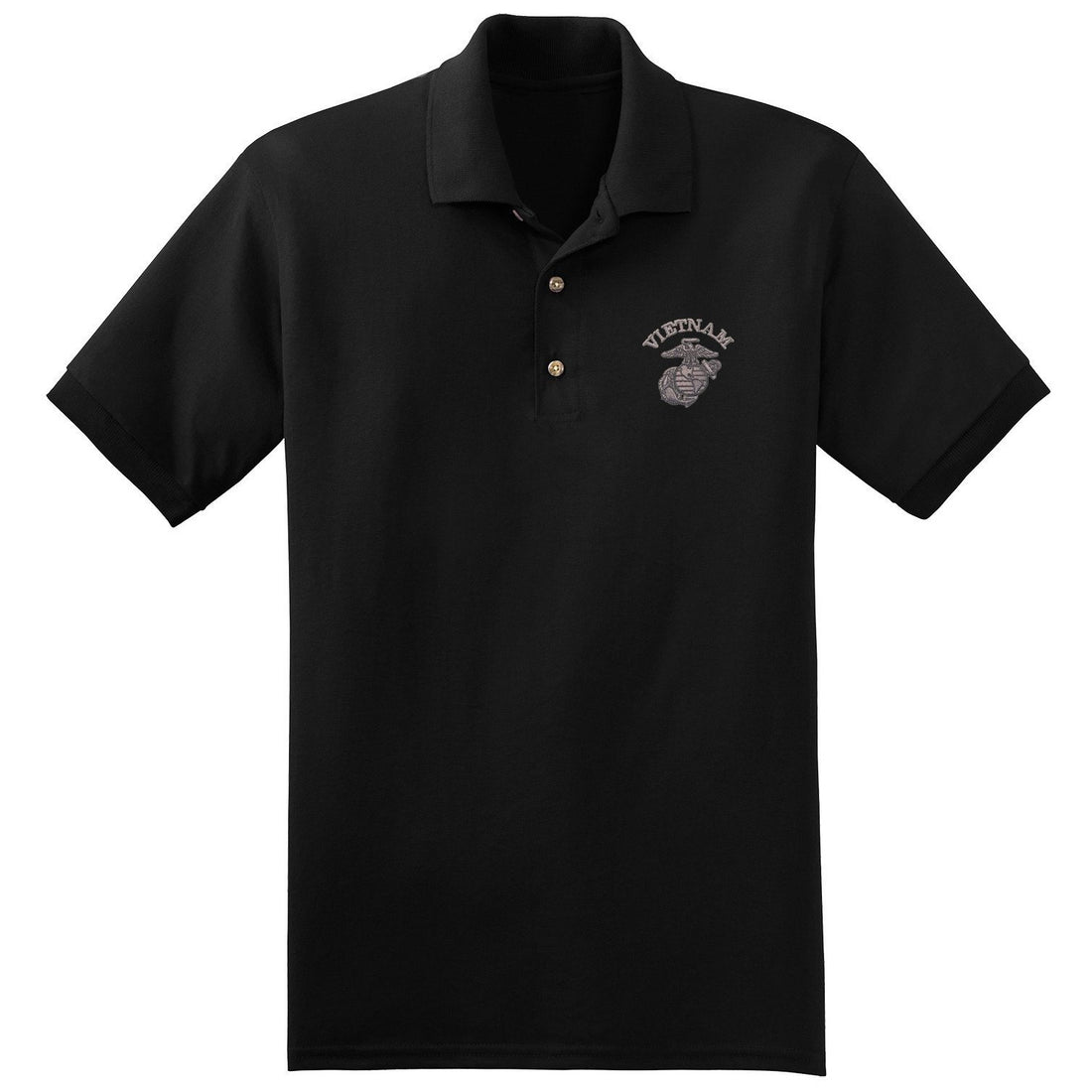 Vietnam EGA Polo (MULTIPLE COLORS) - Marine Corps Direct  - 3