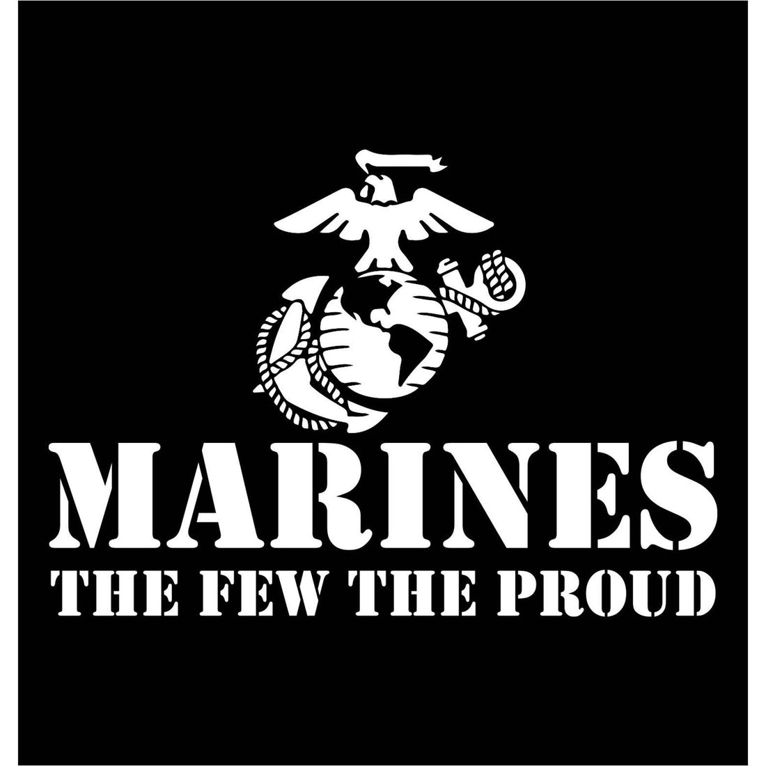 The Few The Proud Chest Seal Hoodie - Marine Corps Direct
