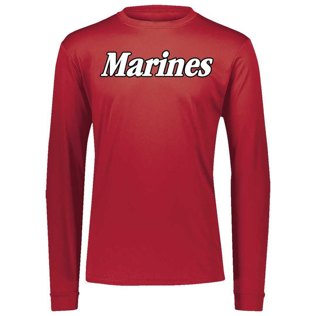 Big Marines Dri-Fit Performance Long Sleeve - Marine Corps Direct