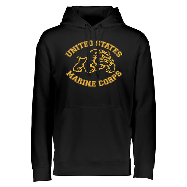 Running Bulldog Dri-Fit Performance Hoodie - Marine Corps Direct