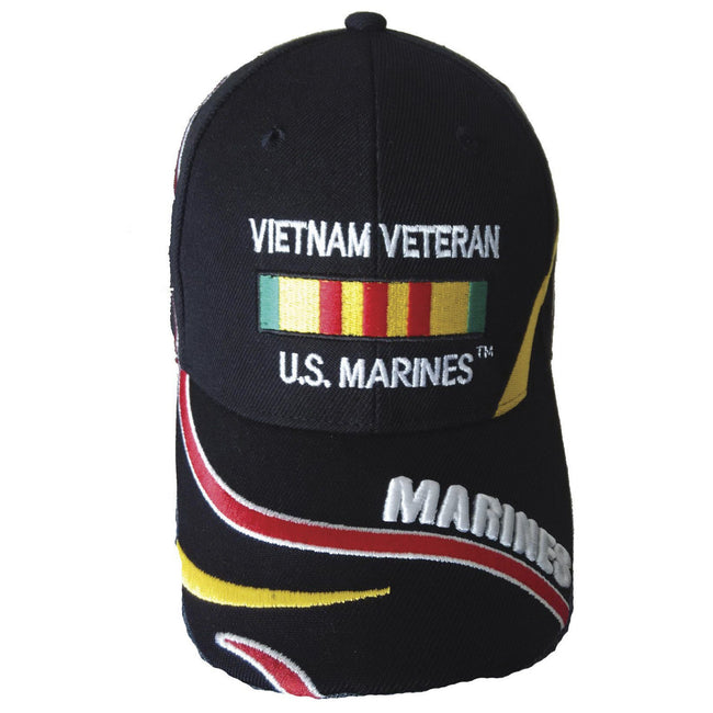 Vietnam Vet hat by Marine Corps Direct called Vietnam Veteran Black Marine Corps Cover