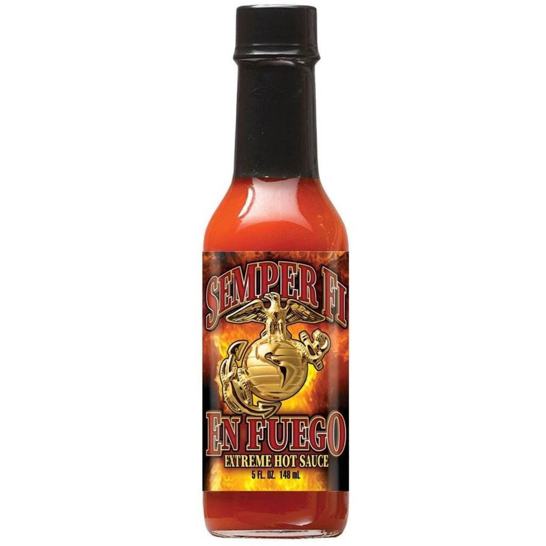 "Hot Sauce ""SEMPER FI ENFREGO"" - EXTREME HOT - Marine Corps Direct"