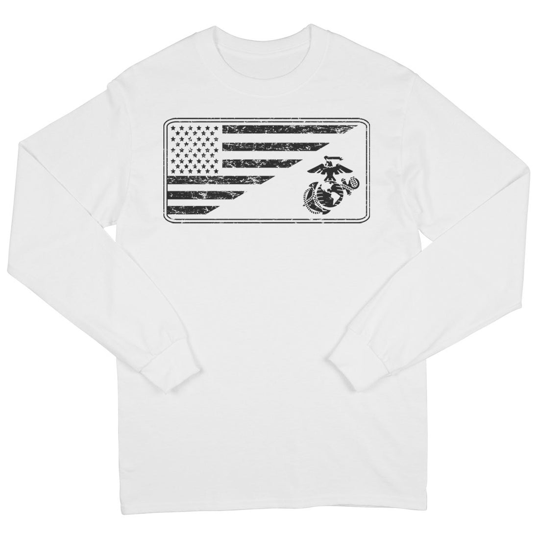 EGA Flag Long Sleeve T-Shirt