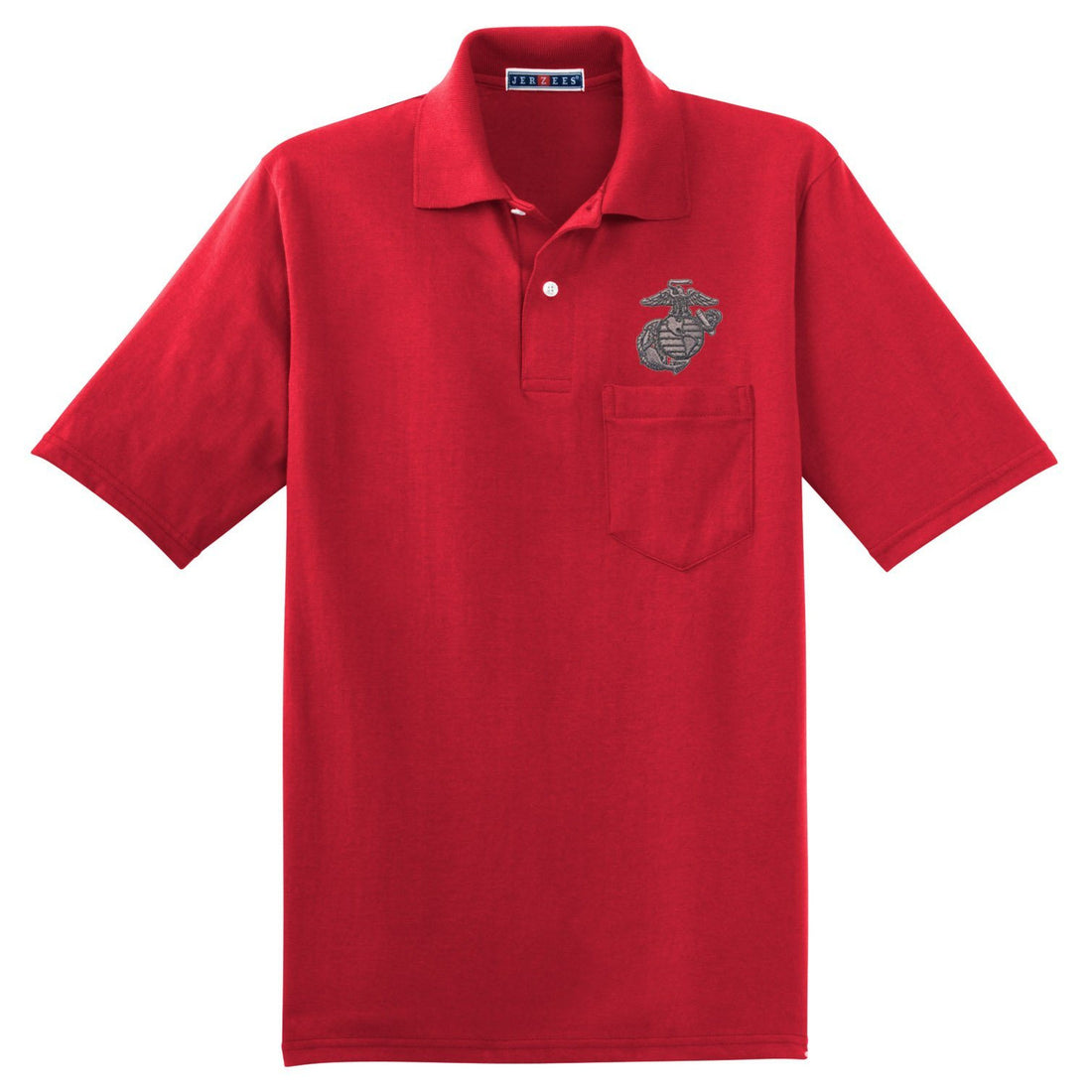 Metal EGA Embroidered Pocket Polo