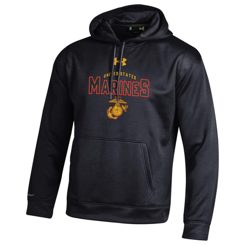 Under Armour U.S. Marines Hoodie Black