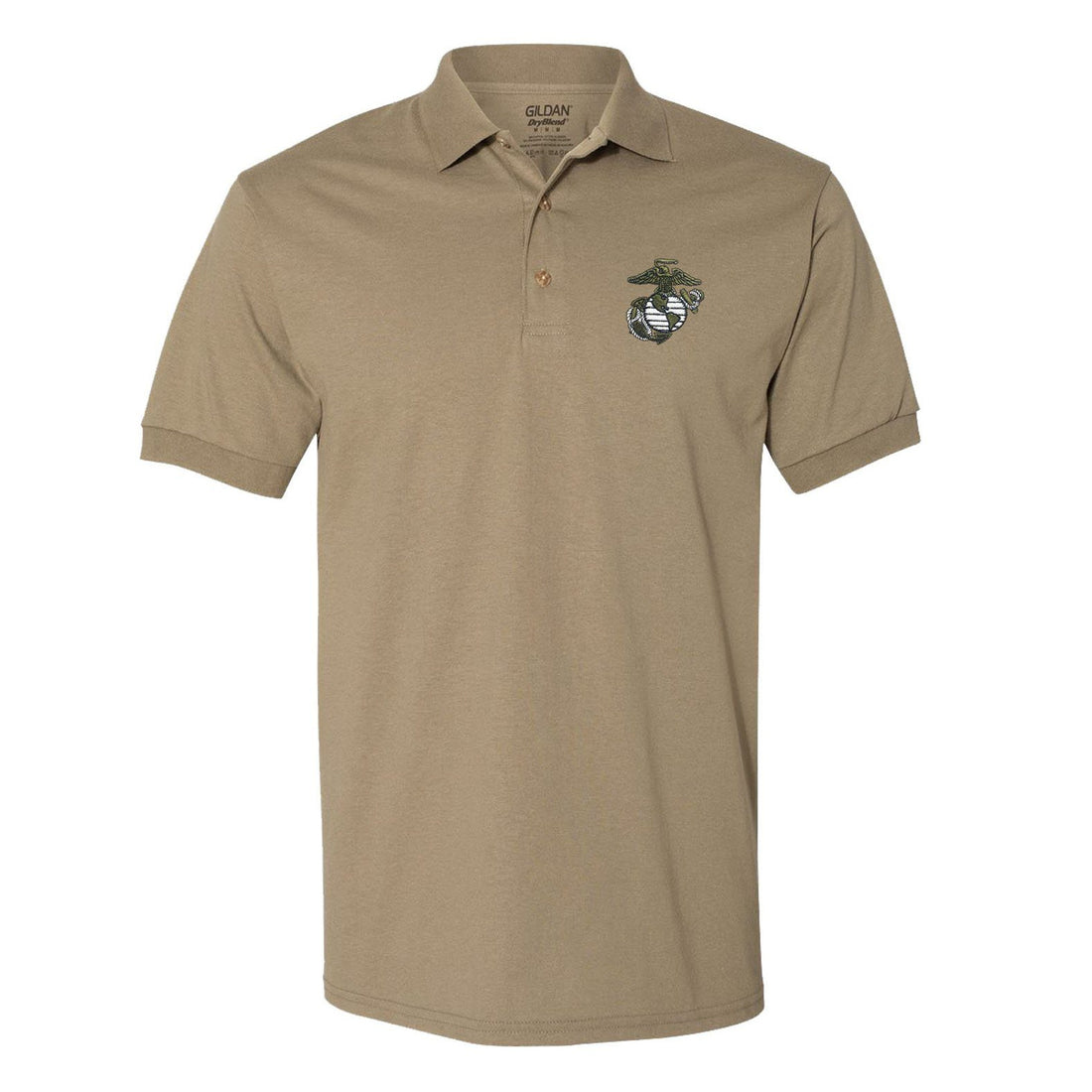 Limited Edition Military Green EGA Embroidered Polo