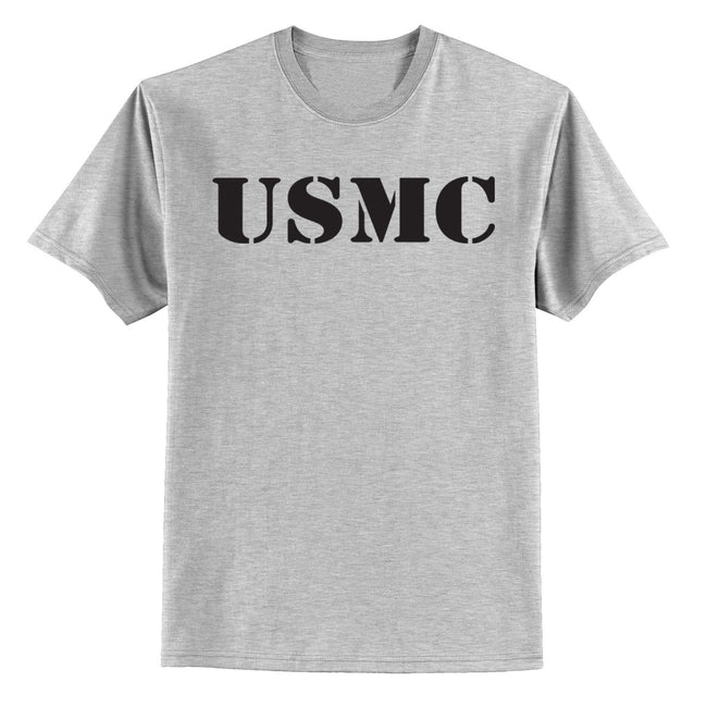 USMC YOUTH SPORT GRAY TEE