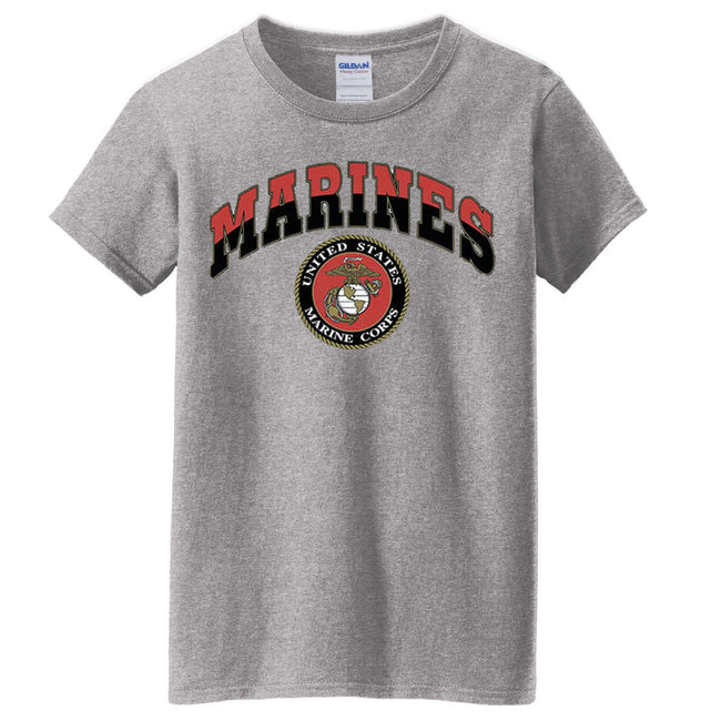 Women's Classic Tee (MULTIPLE COLORS) - Marine Corps Direct  - 1