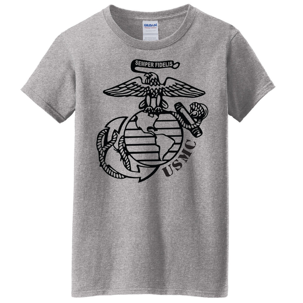 Big EGA Women's Tee (MULTIPLE COLORS) - Marine Corps Direct  - 1