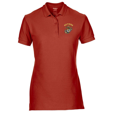 Women's Retired Polo (MULTIPLE COLORS)