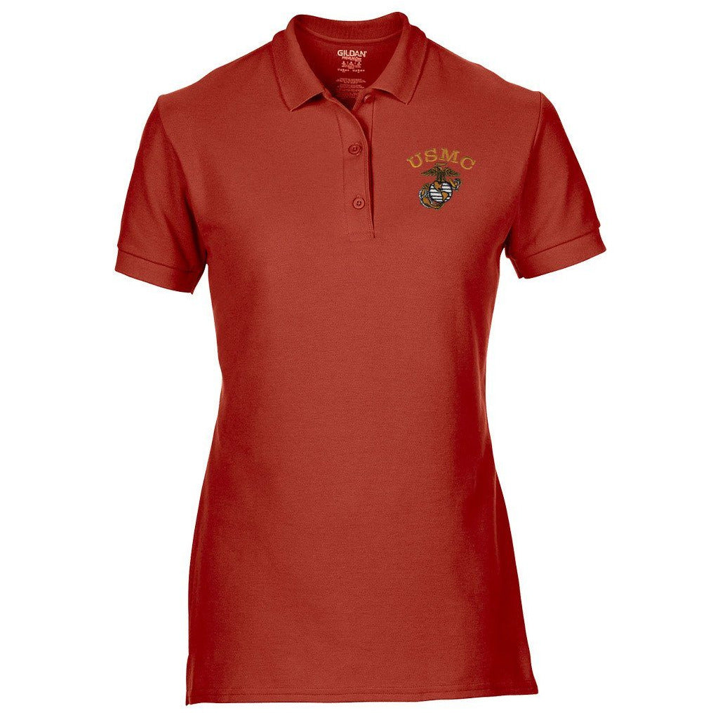 Women's Tonal EGA Polo (MULTIPLE COLORS) - Marine Corps Direct  - 3