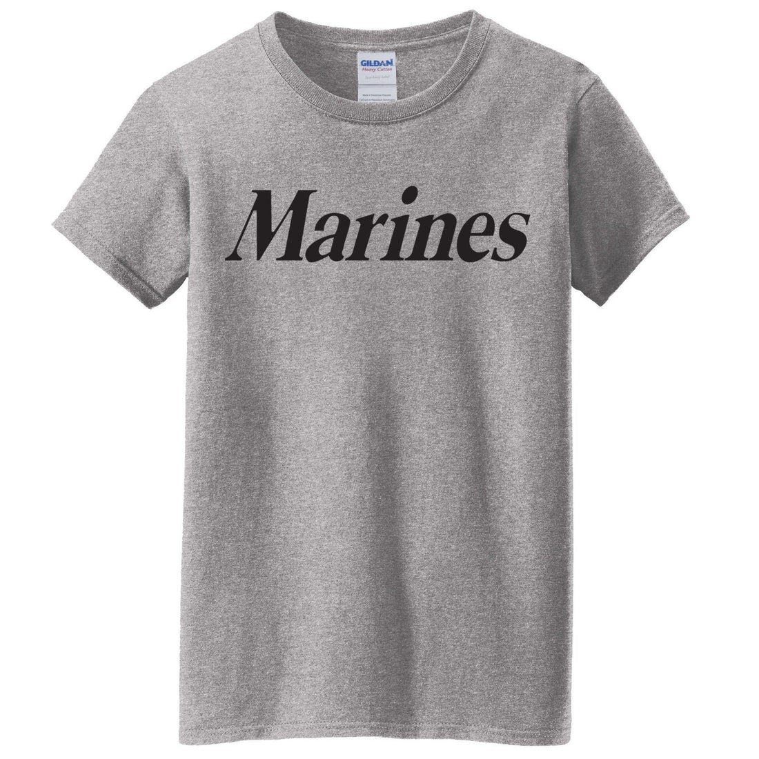 MCD - Women's Marine Tee-Click for More Color Options - Marine Corps Direct  - 2