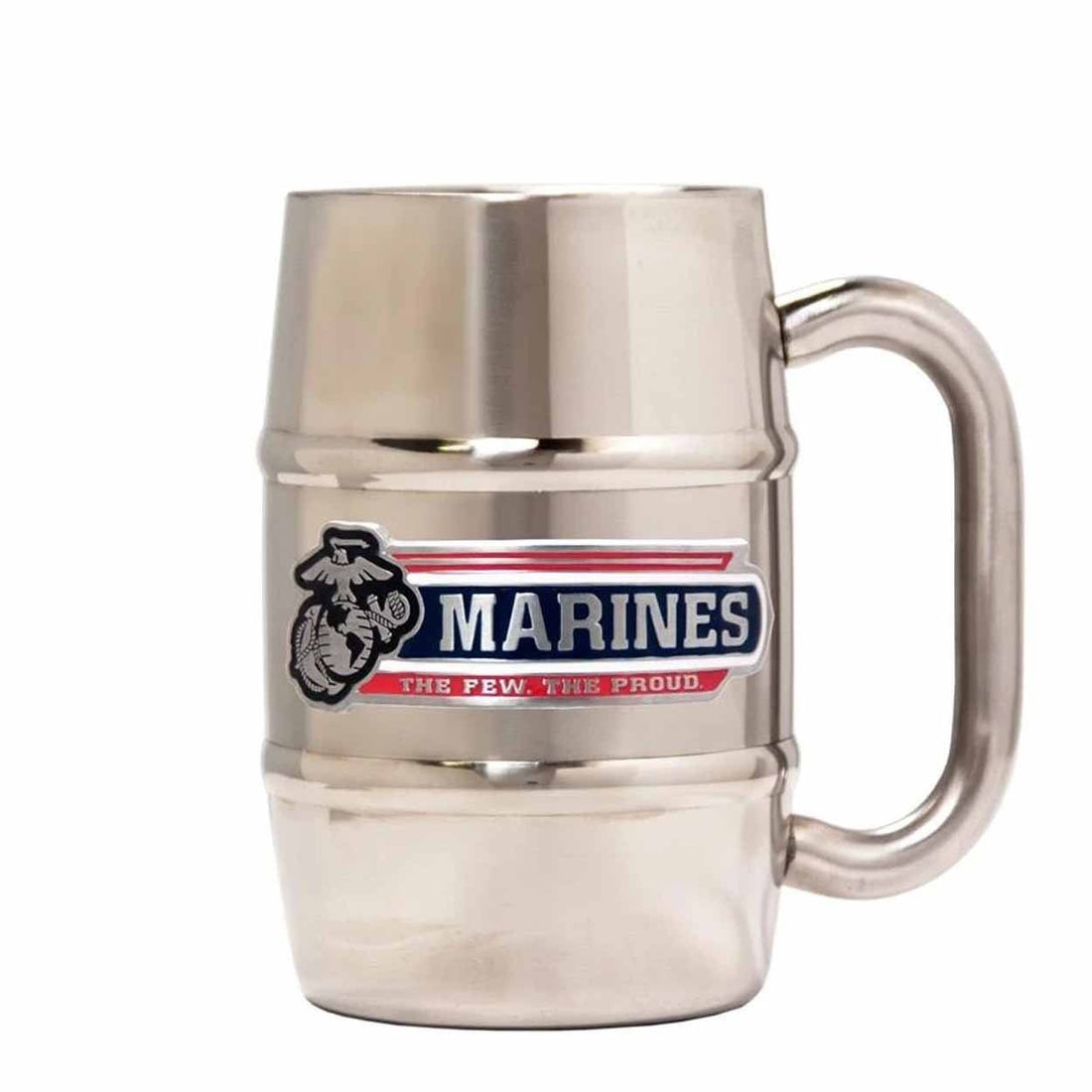 Marines The Few The Proud Stainless Steel Insulated Barrel Mug