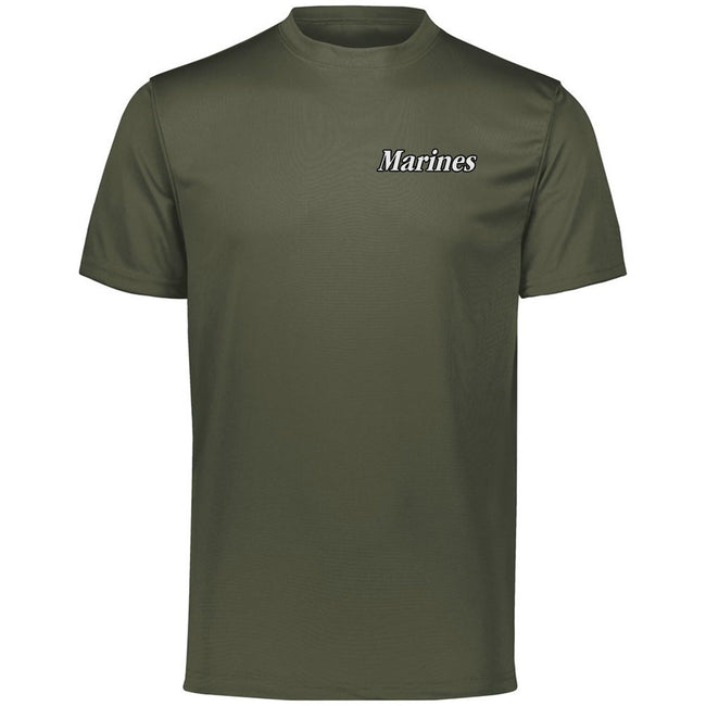 Marines Chest Seal Augusta Performancee Dri-Fit Tee