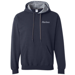 Marines Heavy Blend™ Contrast Hooded Sweatshirt