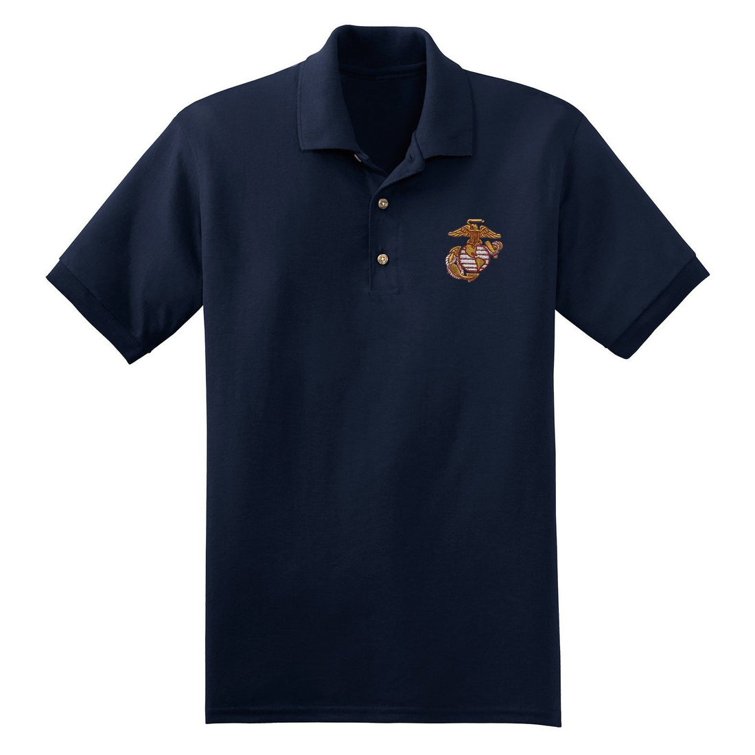 Scarlet and Gold EGA Embroidered Polo