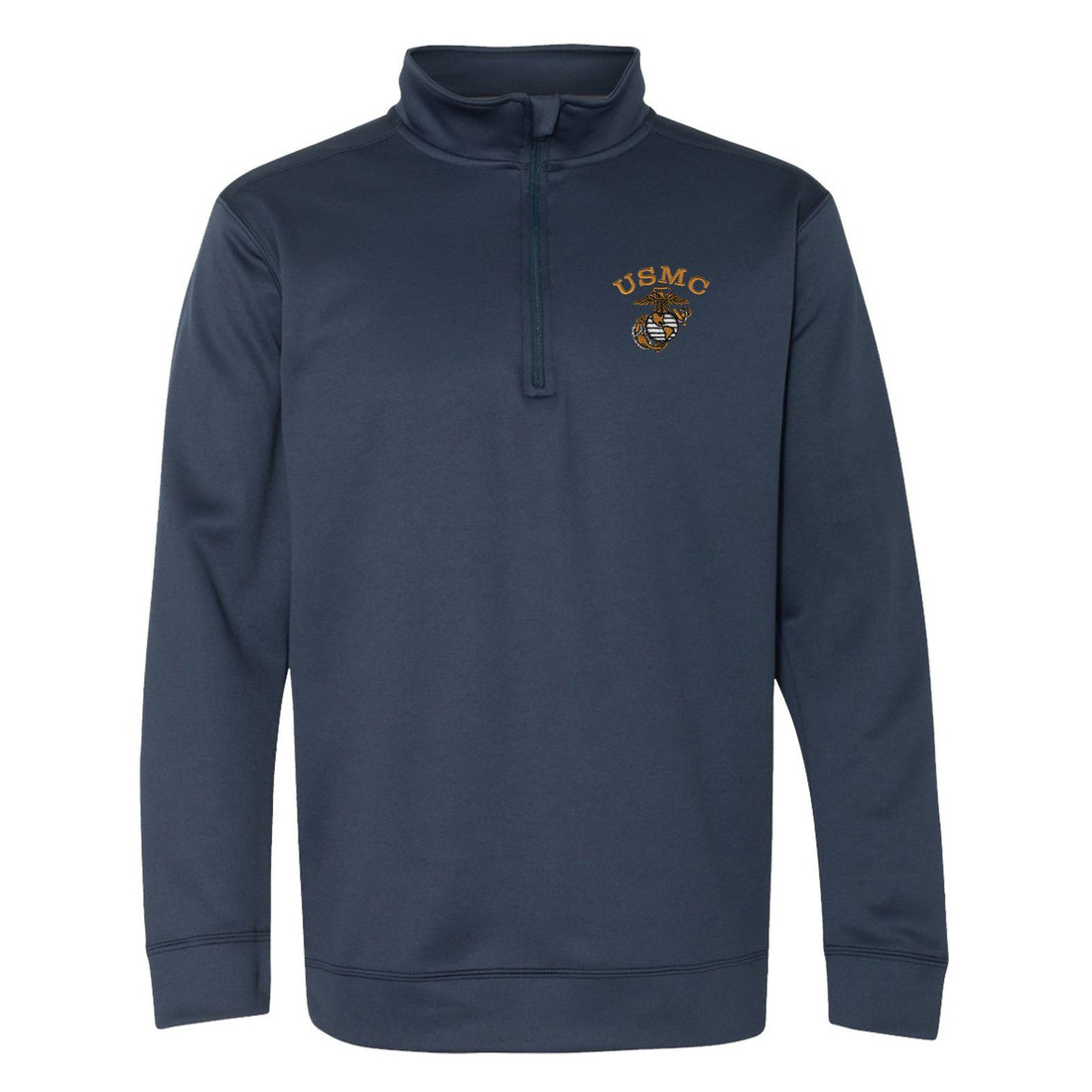 USMC Tonal Embroidered Performance® Tech Quarter-Zip Pullover Sweatshirt
