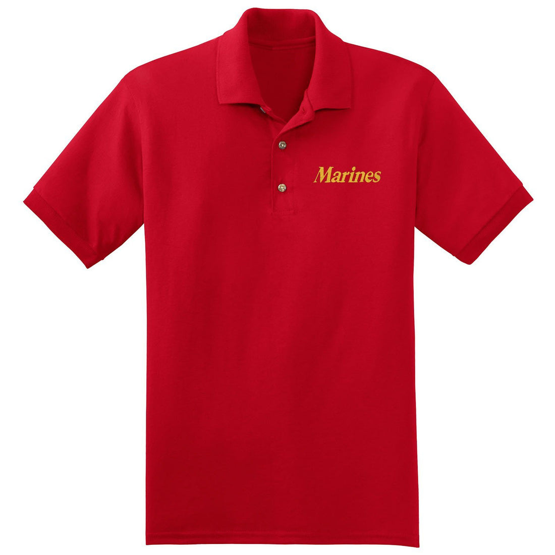 Marines Embroidered Polo - Marine Corps Direct