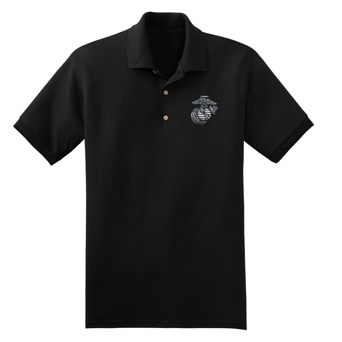 Aluminum EGA Embroidered Polo