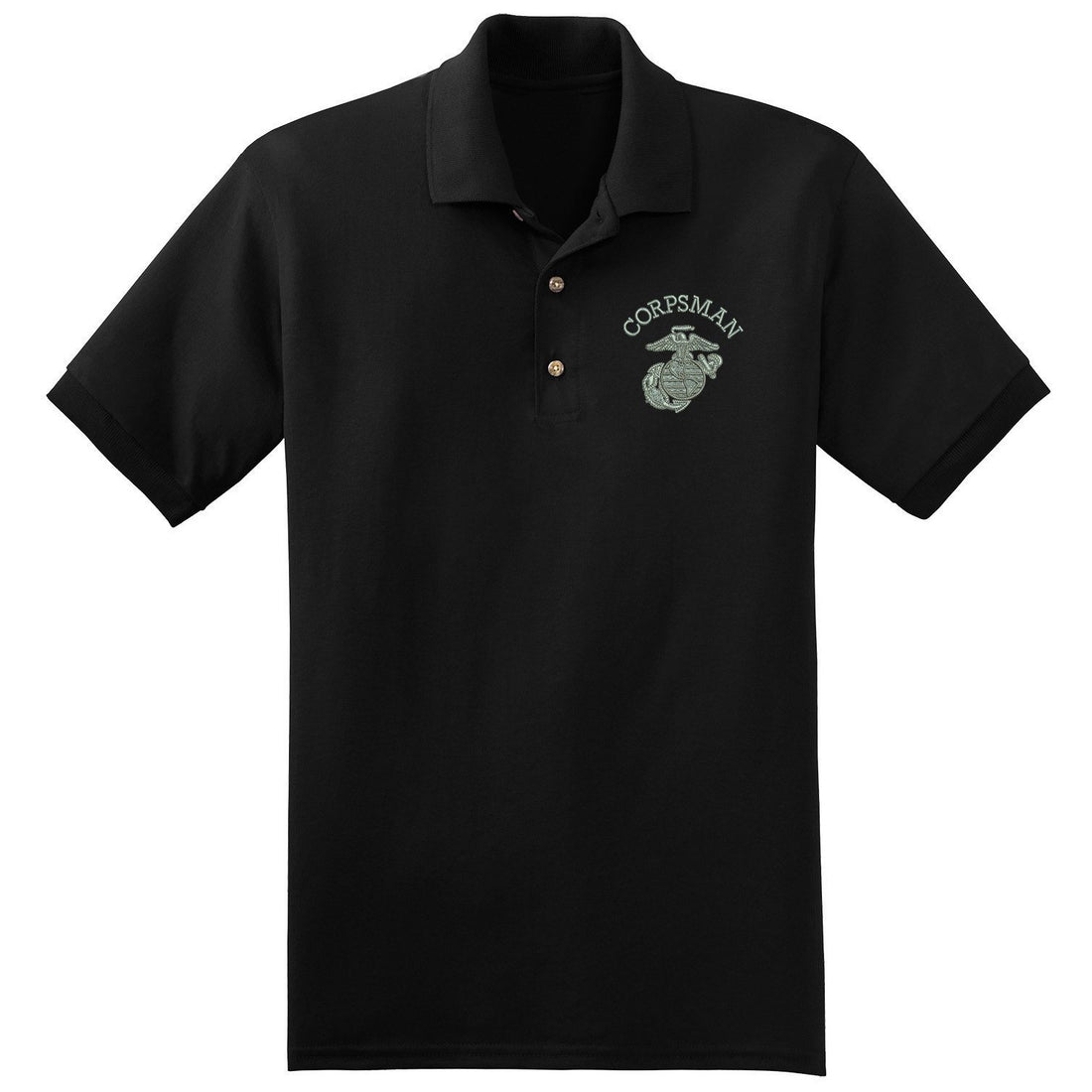 Corpsman EGA Embroidered Polo