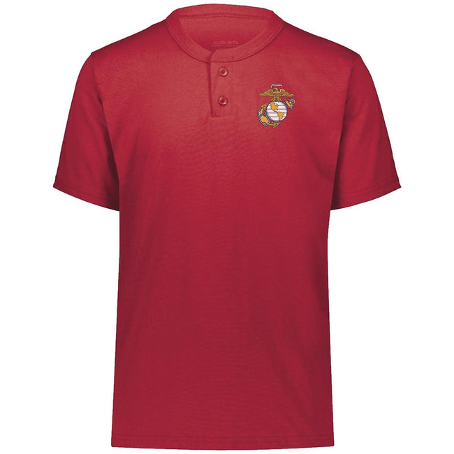 CLOSEOUT Marines Chest Seal Henley T-Shirt - Marine Corps Direct