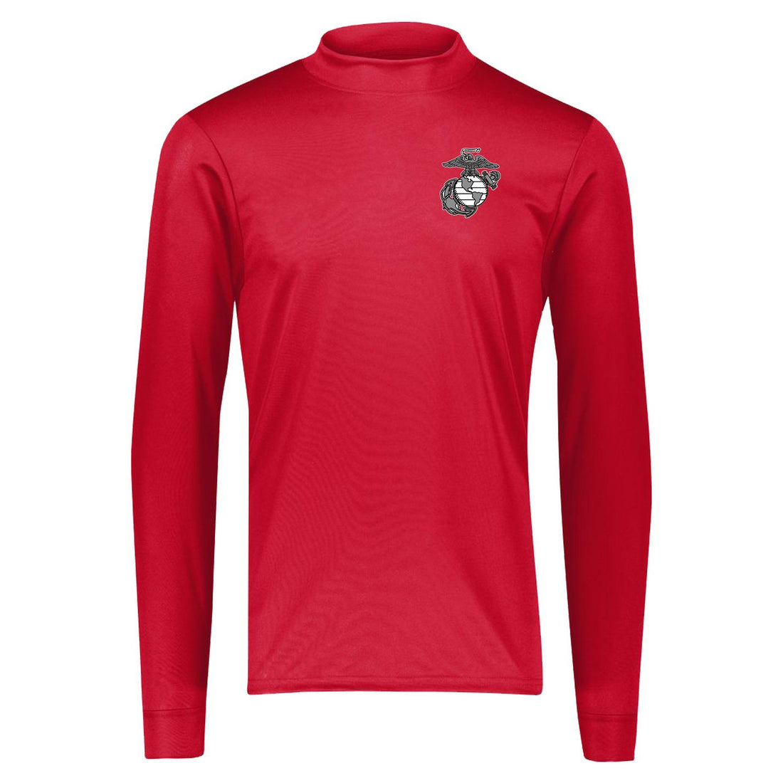 Marines Dri-Fit Performance Mock Turtleneck Long Sleeve - Marine Corps Direct
