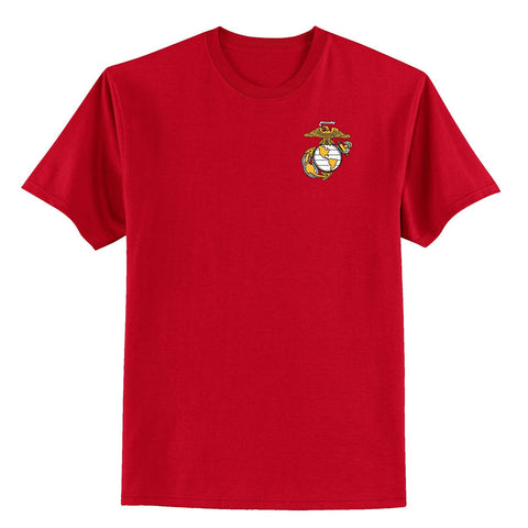 Gold EGA Chest Seal T-Shirt (Small -5XL) Multiple Colors