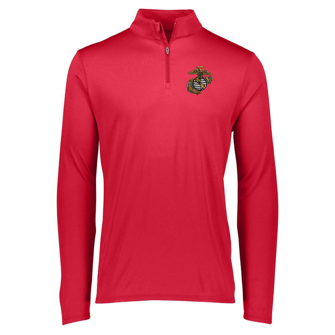 Marines EGA Embroidered Augusta Performance Dri-Fit 1/4 Zip