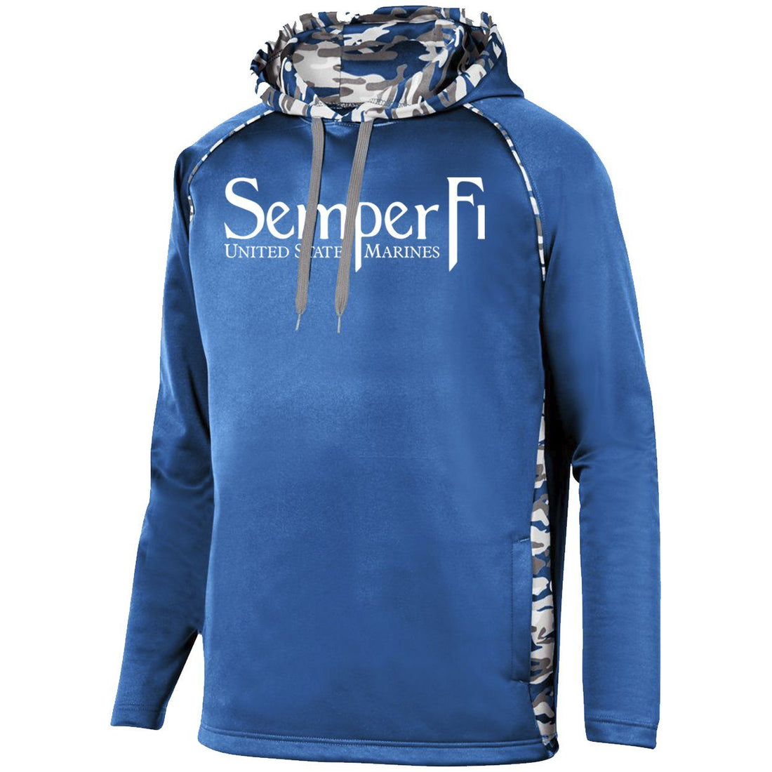 COMBAT CHARGED Semper Fi Augusta PERFORMANCE Mod Camo Hoodie