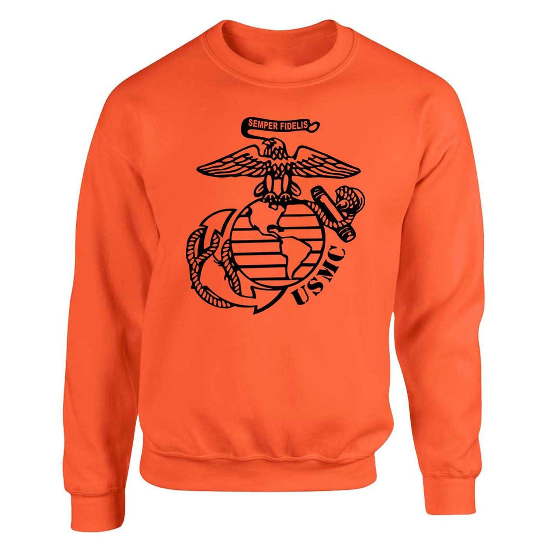 Special Edition Safety Orange Big EGA Sweatshirt