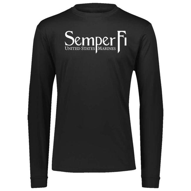 Semper Fi Dri-Fit Performance Long Sleeve T-Shirt