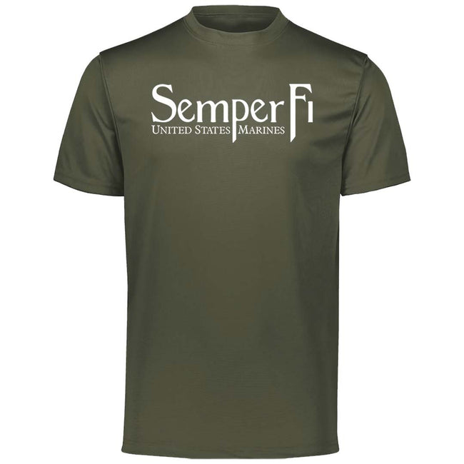 Semper Fi Dri-Fit Performance T-Shirt - Marine Corps Direct