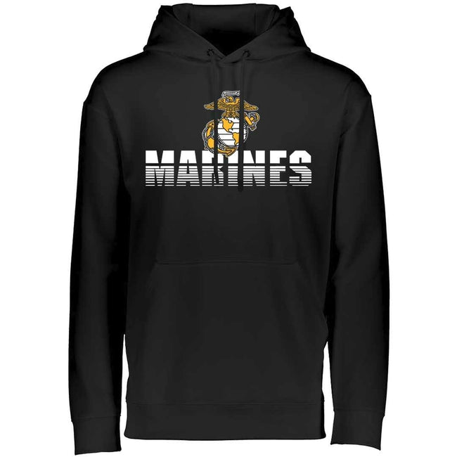 Shredded Marines Dri-Fit Performance Hoodie - Marine Corps Direct