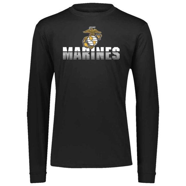 Shredded Marines Dri-Fit Performance Long Sleeve
