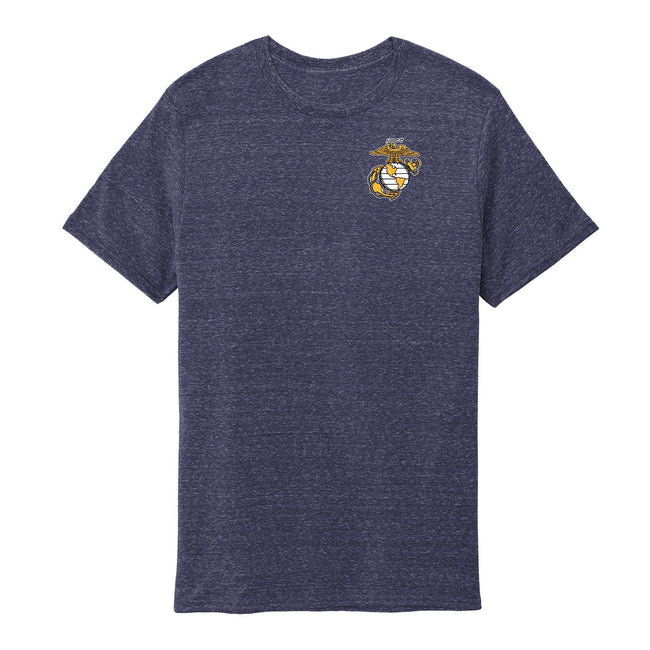 Navy Snow Heather EGA T-Shirt